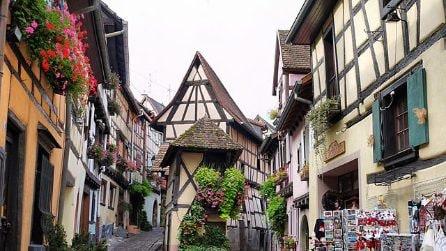 Eguisheim, un pittoresco borgo francese