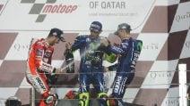 MotoGP Qatar, Vinales vince all'esordio con la Yamaha. Dovi e Rossi sul podio