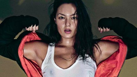 Mia Kang, la modella con la passione per la boxe