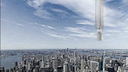 Il grattacielo che galleggia nel cielo