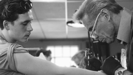Il primo tatuaggio di Brooklyn Beckham