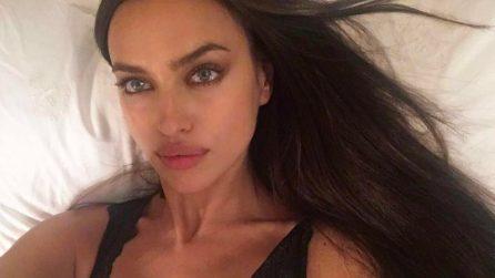 La gravidanza di Irina Shayk: la modella nasconde il pancione
