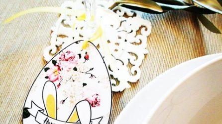 Segnaposti pasquali: le idee per decorare la tavola