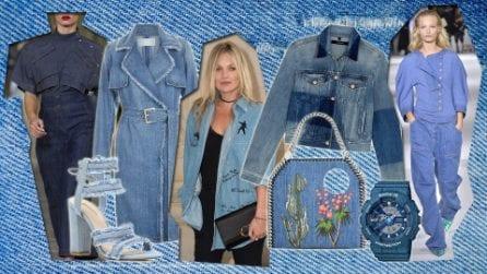 A tutto denim: abiti e accessori di jeans per la primavera