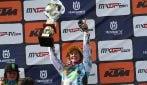 Motocross: Kiara Fontenesi vince il GP del Trentino