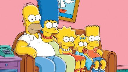 I Simpson - Le foto di scena