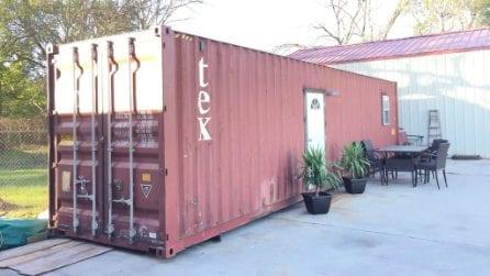 """Da fuori dà l'impressione di un semplice container: non crederete cosa """"nasconde"""" all'interno"""