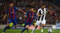 Champions League, le immagini del ritorno tra Barcellona e Juventus