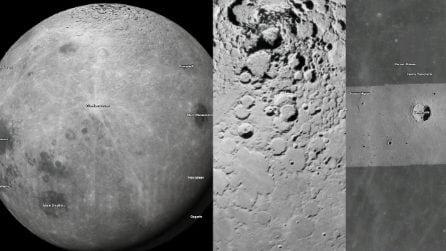 La spettacolare vista della Luna con Google Maps