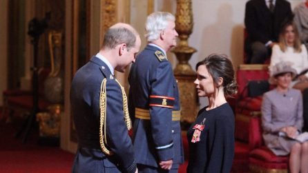 Victoria Beckham incontra il principe William