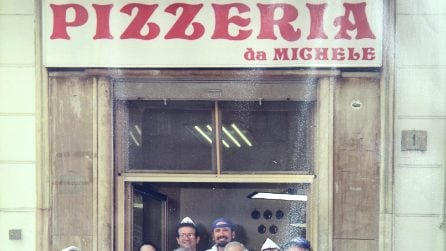 Pizzeria Da Michele a Forcella: la storia in foto