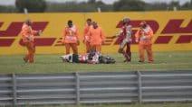 MotoGP, la caduta di Jorge Lorenzo in Argentina