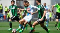 Serie A 2016/2017, le immagini di Sassuolo-Napoli