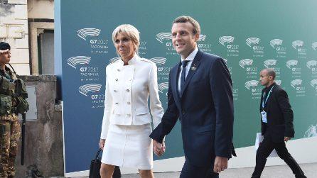 Brigitte Trogneux, lo stile glamour della moglie di Macron