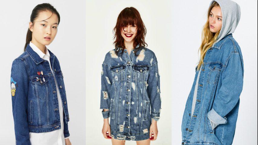 La giacca di jeans oversize maschile che fa impazzire le donne