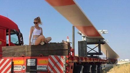 Iwona, la camionista più sexy al mondo