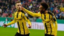 Coppa di Germania, Bayern Monaco-Borussia Dortmund 2-3