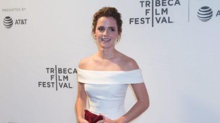 """Il look di Emma Watson alla prima di """"The Circle"""""""