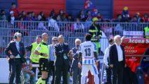 Cagliari-Pescara, Muntari lascia il campo dopo gli insulti razzisti