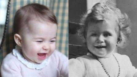 La principessa Charlotte e la regina Elisabetta