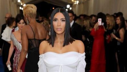 Il look sobrio di Kim Kardashian al Met Gala 2017