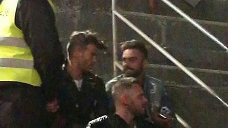 Mario Serpa e Claudio Sona insieme a Verona il 29 aprile 2017