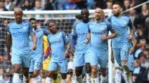 Premier, le immagini di City-Crystal Palace 5-0