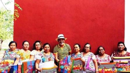 Le borse realizzate dagli artigiani messicani di Christian Louboutin