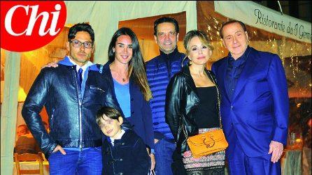 Il compleanno di Pier Silvio Berlusconi con papà Silvio
