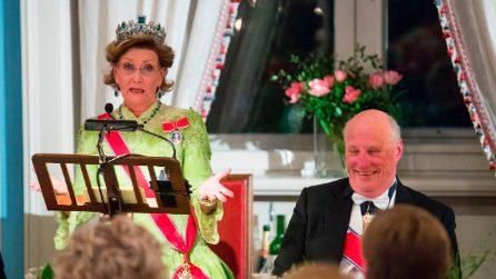 La festa per gli 80 anni dei reali norvegesi