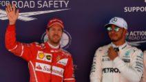 F1 Gp Spagna: Hamilton in pole position, ma Vettel lo incalza