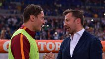Totti e Del Piero, abbraccio tra leggende
