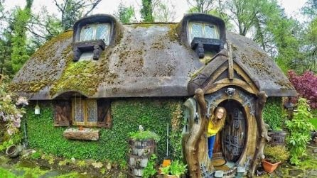 Una vera casa da Hobbit: gli interni vi lasceranno senza parole
