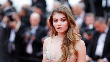 Il look di Thylane Blondeau a Cannes
