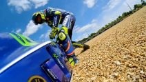 MotoGP, La caduta di Valentino Rossi a Le Mans