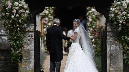 L'abito da sposa di Pippa Middleton