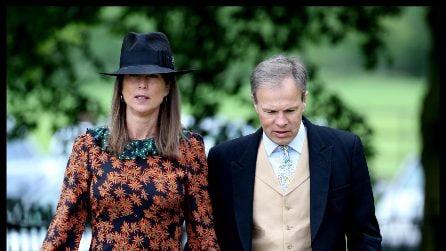 I look degli invitati al matrimonio di Pippa Middleton