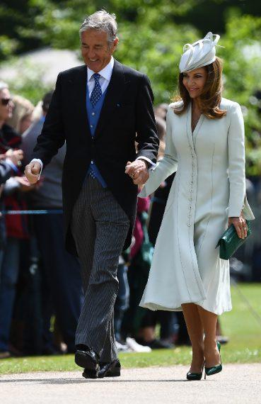 David e Jane Matthews in genitori dello sposo