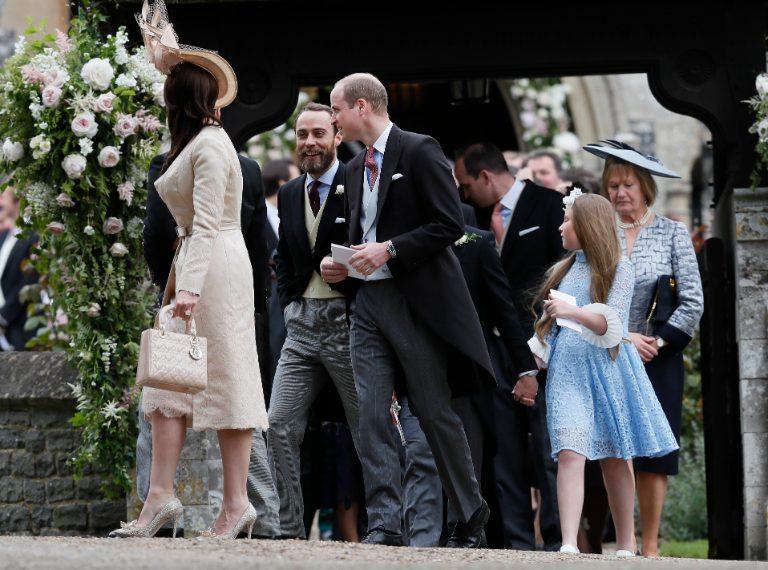 William con il fratello di Kate e Pippa Middleton