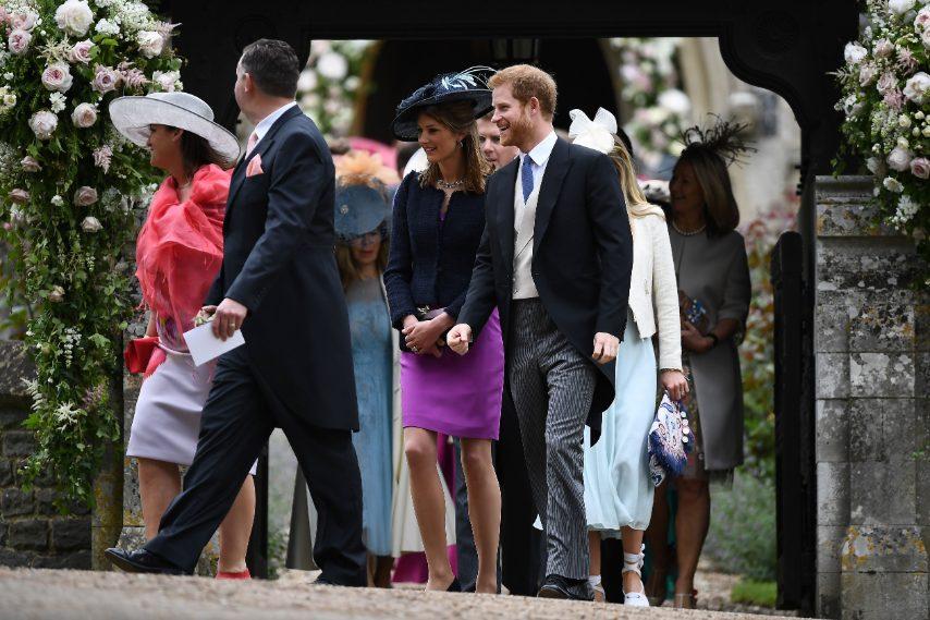 Il Principe Harry e altri invitati