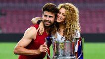 Le foto di Shakira e Piqué