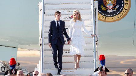 Gli abiti sfoggiati da Ivanka Trump in Italia