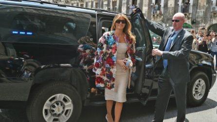 Melania Trump e il cappottino da 50.000 dollari