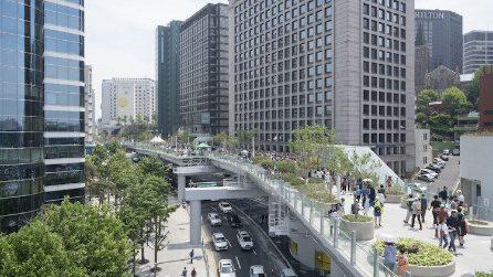 Da sopraelevata abbandonata a parco verde: sul nuovo Skygarden di Seoul