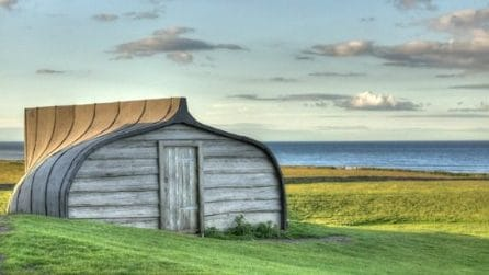 Case a forma di barca: benvenuti sull'Isola Santa