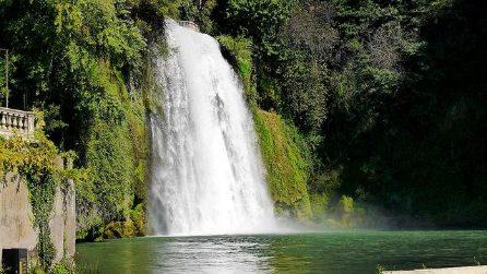 Isola del Liri, la magia di una cascata nel centro cittadino