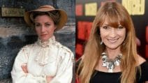 """Gli attori de """"La signora del West"""" ieri e oggi"""
