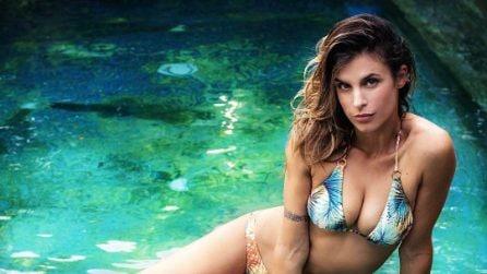Elisabetta Canalis in bikini
