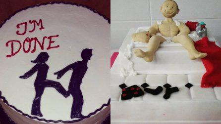 """Festeggiare il divorzio con una torta: ecco la """"Divorce Cake"""""""