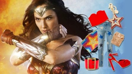 Wonder woman: crea un look da super eroina